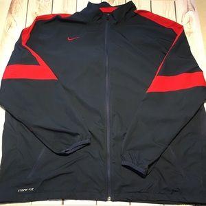 Nike men's storm-fit lightweight zip jacket, 4X